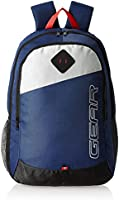 Gear Polyester 20 Ltrs Blue Casual Backpack (MDBKPECO50504)