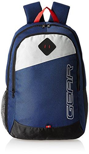 Gear 20 Ltrs Blue Casual Backpack (MDBKPECO50504)