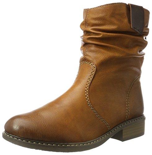 Rieker Damen Z4180 Stiefel, Braun (Cayenne/Kastanie), 39 EU
