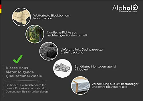 Gartenhaus MONS | 300 x 270 - 2