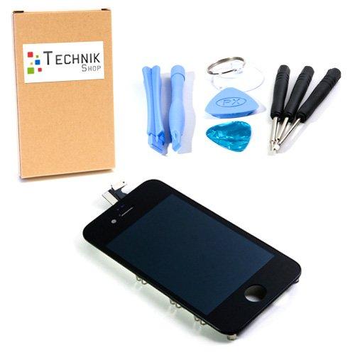 für iPhone 4S schwarz mit Werkzeug - komplett mit Gitter ()