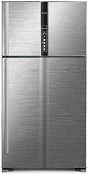 Hitachi 990 L Top Mount Refrigerator, Brilliant Silver/ RV990PUK1KBSL