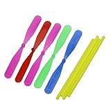 Kofun Kinder-Geschenk-Spielzeug aus Bambus Libelle Propeller Outdoor Spielzeug