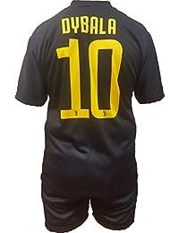 Conjunto Equipacion Tercera Camiseta Pantalones Futbol Juventus Paulo  Dybala 10 Replica Oficial Autorizado 2018-2019 Niños (2 867aa946ef06e