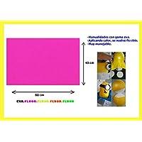 Artes Infinitas E4691 - Pack de 10 unidades Goma Eva Lisa, 40x60cm, color fucsia