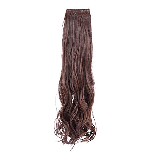 Perücken Pferdeschwanz (Xuanhemen Langes lockiges Haar-Verlängerungs-Pferdeschwanz-Haar für Dame-Haarteil-Perücken (keine)