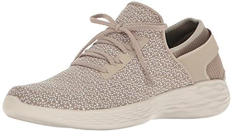 Skechers Damen You-Inspire Sneakers, Beige (Nat), 38 EU