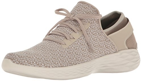 Skechers Damen You-Inspire Sneakers, Beige (Nat), 40 EU