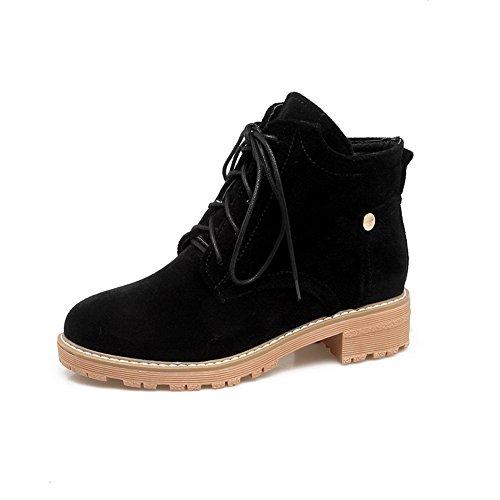 AN  ANDku01701 Sandalo con Zeppa Donna Nero  AN  e92748