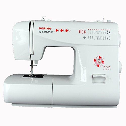 Gritzner | Dorina Freiarm-Nähmaschine 323 | 23 Nutz- und Zierstiche für jeden Stoff | Für DIY und Hobby | DORINA 323
