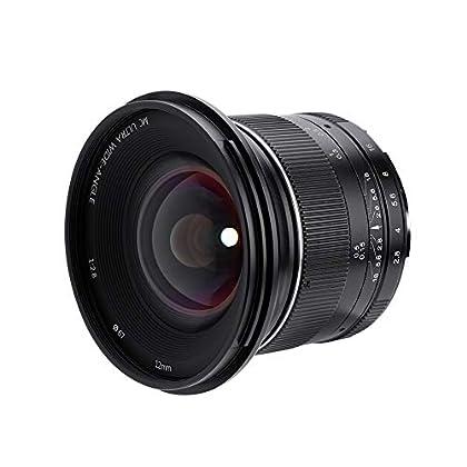 Acouto F2.8 - Soporte de objetivo de apertura manual para cámaras sin espejo, 12 mm