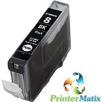 Canon CLI-8BK NERO Pixma IX 5000/MP 500/IP 6600/5300 CARTUCCE COMPATIBILI Confezione da 1PZ