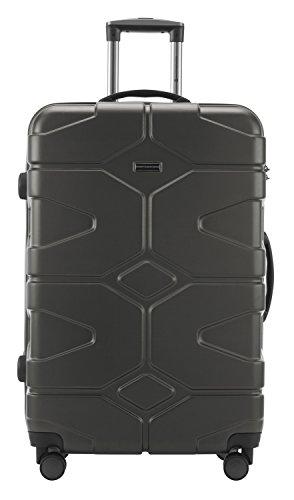 HAUPTSTADTKOFFER - X-Kölln - 2er Koffer-Set Trolley-Set Rollkoffer Reisekoffer, TSA, (S & L), Graphite matt - 5