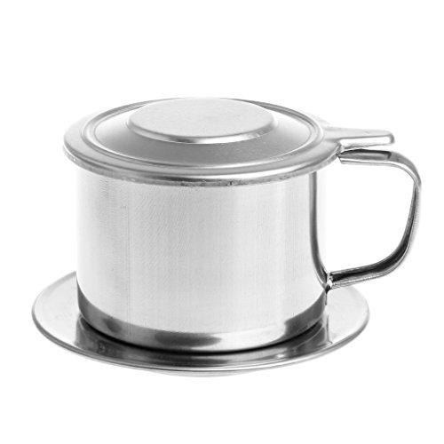 Chuhe - Edelstahl-Tropfenfänger-Kaffeefilter-Hersteller-Topf Infuser Für Das Büro-Hauptreisen