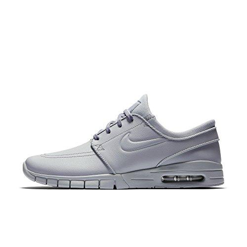 Nike Herren SB Stefan Janoski Max L Grau Leder Sneaker 42.5 (Skateboard-schuhe Sb Nike)