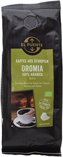 El Puente Äthiopien-Kaffee Oromia Bohne,10er Pack (10x 250 g)