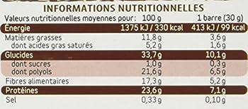 Dukan Barres de Son d'Avoine Extra-Gourmand 120 g