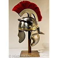 Roman Centurion casco (con spessore rosso Plume)