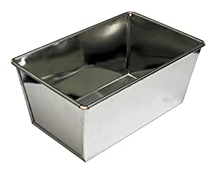 Extra Large Loaf Tin 4lb+ capacity, Heavy Duty Ideal for Farmhouse & Large Loaves