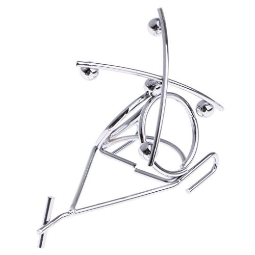 uum Mobile Balance Spielzeug Metall Figur Handwerk Wohnkultur - Silber - 3 (Balance Mobile)