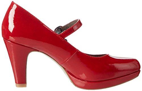 s.Oliver 24401, Scarpe con Tacco Donna Rosso (Chili Patent)