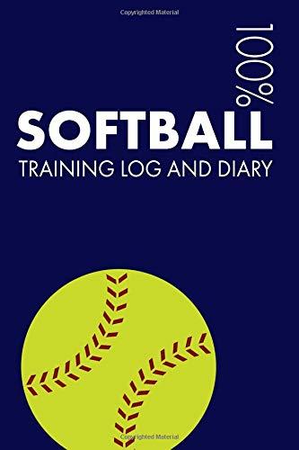 Softball Training Log and Diary: Training Journal For Softball - Notebook por Elegant Notebooks