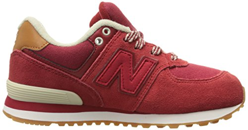 Baskets New Balance KL574 NJP Kids Red/Yellow