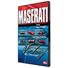 MASERATI DVD: historic, race-winning cars driven hard. Unique footage of rare cars, hidden in private collections; until now.