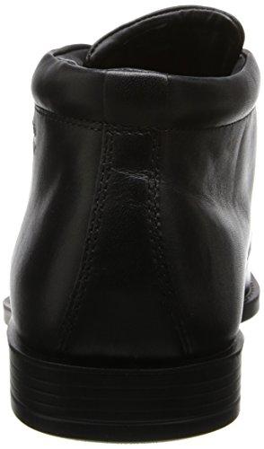ECCO EDINBURGH Herren Kurzschaft Stiefel Schwarz (BLACK 11001)
