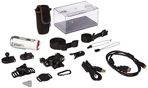 Polaroid XS100 Extreme Edition cámara HD 1080p 16MP impermeable para deportes de acción + kit de montaje incluido
