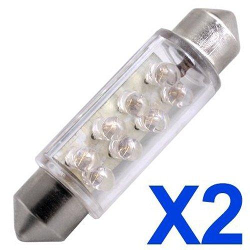 toogoor-2-car-blue-dome-8-led-car-interior-bulb-light-42mm-12v