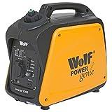 Wolf Petrol Inverter Suitcase Generator 1200w 4HP 4 Stroke Silent Portable Caravan Camping
