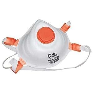 10x atemschutz staubschutzmaske maske mit ventil ffp3 baumarkt. Black Bedroom Furniture Sets. Home Design Ideas