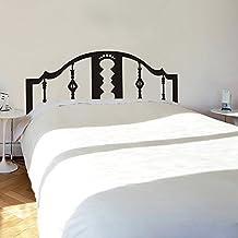 """mairgwall cabecero vinilo Master cama de adhesivo de pared, habitación adhesivo decorativo, vinilo, Custom, 28""""h x76""""w"""