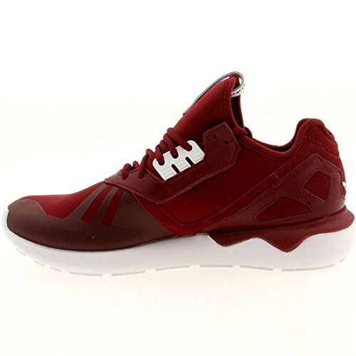 Adidas Tubular Runner Schwarz / Braun 11 Laufende Athletisch B35641 Burgundy / Burgundy-White