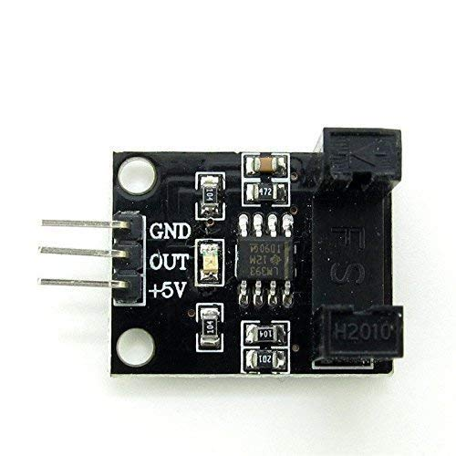 UIOTEC 5V DC Infrared Light Beam Counter Active Infrared Intrusion Detectors Counting Photoelectric Sensor Module* Intrusion Detector