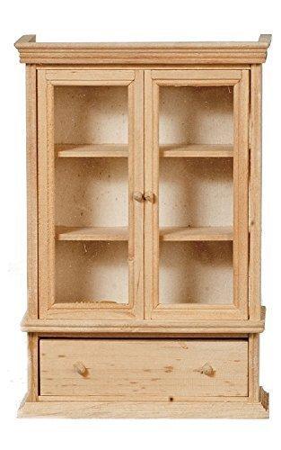 Melody Jane casa delle bambole LIBRERIA MOBILETTO grezzo legno grezzo mobili in miniatura