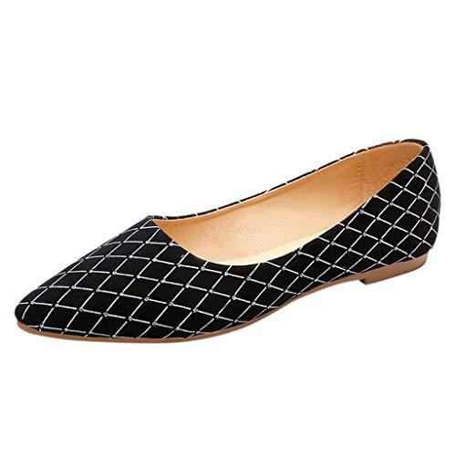 b4f65c37b Mujeres Mode Zapatos Planos Mocasines de Cristal Pisos de Boca Baja  Puntiagudos Sandalias Mujer un Pedal Zapatos Perezosos Sandalias Casuales  Zapatos Solos ...
