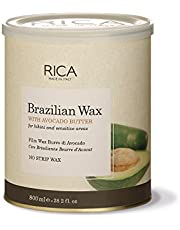 Rica Brazilian Wax with Avocado Butter for Bikini and Face
