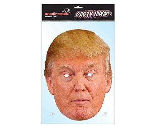 6a9c59f4f5907 Donald Trump Celebrity Politician Card Face Mask by Mask-arade