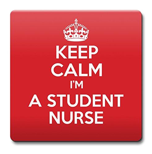 Keep Calm I 'm a Student Nurse Untersetzer–Kaffee Tasse Geschenkidee Geschenk Arbeitsplätze