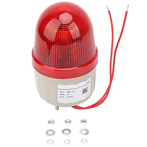 220VAC Mini Beacon Warnsignal Strobe Light Lampe Spiral Fixed 75mm Durchmesser Strobe Assembly