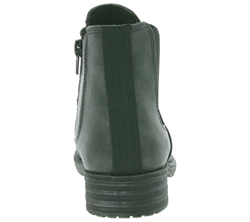 BULLBOXER Chelsea Boot Schuhe Kinder Stiefelette Boots Schwarz AEQ514 Grau