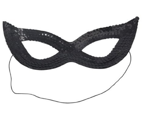 Beyondfashion-Sexy-Cat-Women-Sequin-Venetian-Masquerade-Carnival-Eye-Mask-Party-Black
