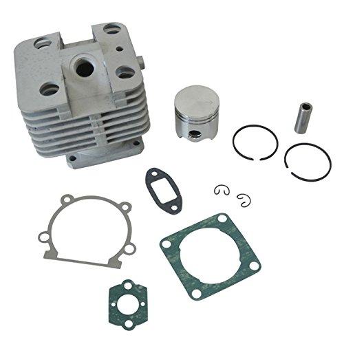 Générique 35mm Cylindre 10mm Piston avec Broche Segment Clips Rebuild Kit pour Stihl FS250 FS200 FS120 Tondeuse Taille-Haie 4134 020 1213