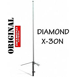DIAMOND ORIGINAL X-30 N 2M 70CM DUAL BAND COLLINEAR ANTENNA PMR 446 PMR446 by Diamond