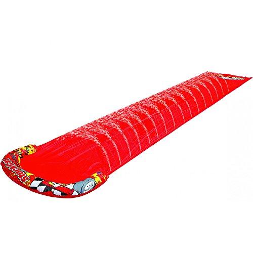 Best Sporting Wasserrutsche für den Garten, Rot, 500 x 90 cm