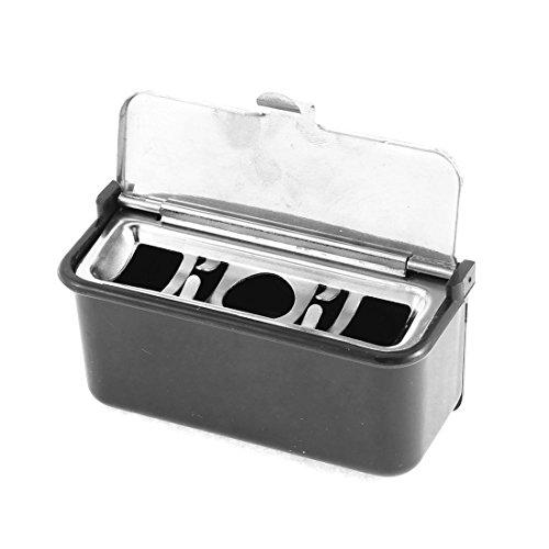 sourcingmap® Auto Diffusor Selbstklebend Zigarette Behälter Auto Aschenbecher Asche Behälter