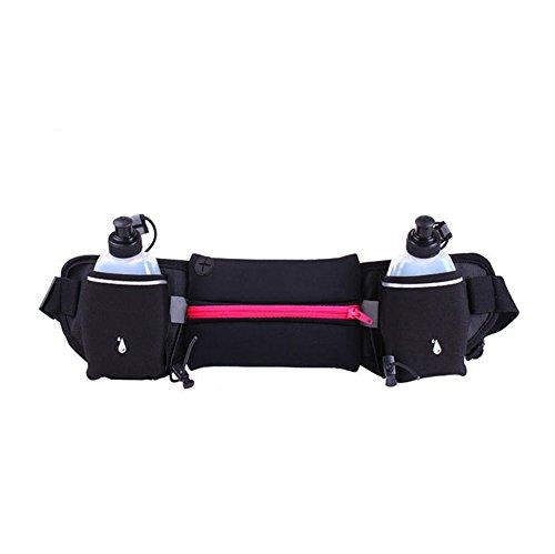ZYPMM Mehrzweck-Sportwasserdichte Taschen Taschen persönliches Telefon im Freien Mara Kessel unsichtbare Taschen (mit Wasserkocher) Rosa