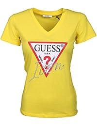 Y Camisetas De Amazon es Guess Tops Camisetas Manga Larga qSSO7xn8W